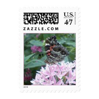 Morning Breakfast Postage Stamp