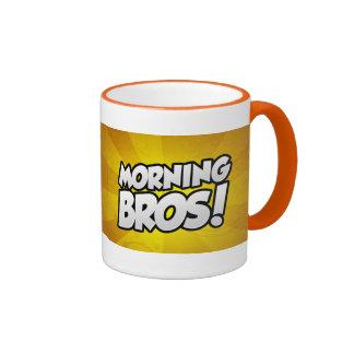 Morning Bros coffee mug Plumbline edition