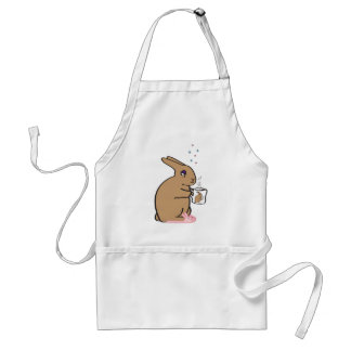 MORNING BUNNY ADULT APRON
