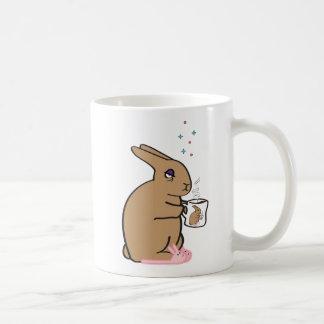 MORNING BUNNY CLASSIC WHITE COFFEE MUG