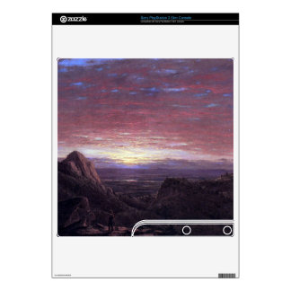 Morning by Frederic Edwin Church PS3 Slim Console Decal