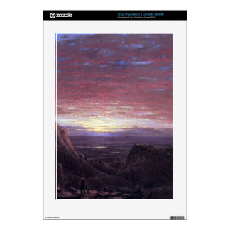Morning by Frederic Edwin Church Decals For PS3 Console