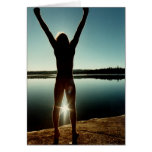 Morning Celebration on the Boundary Waters Greeting Cards