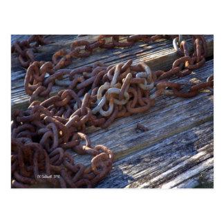 Morning Chains Postcard