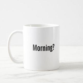 """Morning? Challenge Accepted"" Mug"