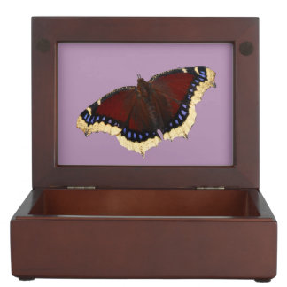 Morning cloak butterfly design jewelry box