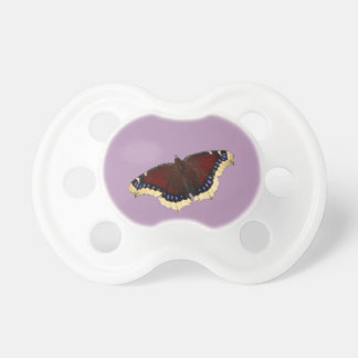 Morning cloak butterfly design pacifiers