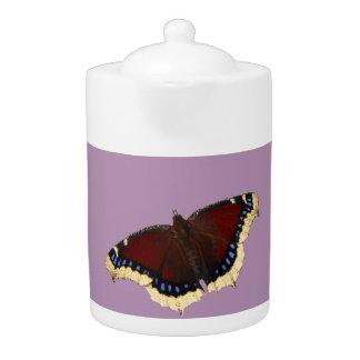 Morning cloak butterfly design teapots