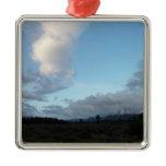 Morning Clouds at Grand Teton National Park Metal Ornament