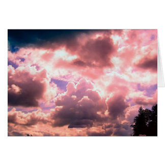Morning Clouds Card