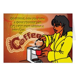 Morning Coffee Card