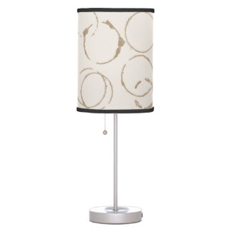 Morning Coffee Cup Stains Table Lamp