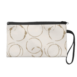 Morning Coffee Cup Stains Wristlet