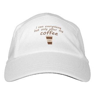 Morning coffee headsweats hat