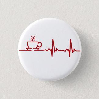 Morning Coffee Heartbeat EKG Button
