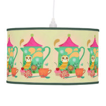 Morning Coffee Owl Pendant Lamp