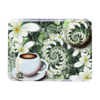 Morning Coffee Rectangular Photo Magnet