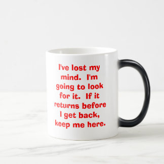 Morning coffee with a twist magic mug
