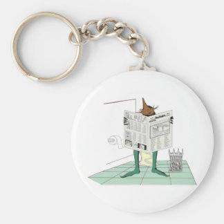 Morning Constitutional Keychain