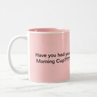 morning cup Coffee mug