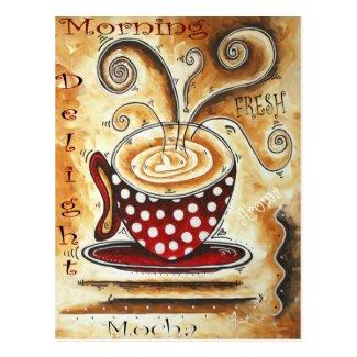 Morning Delight Postcard
