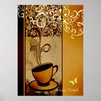 Morning Delight Poster