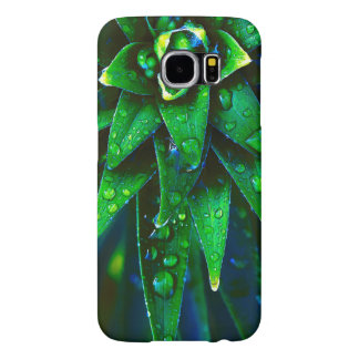 Morning Dew On Plant Samsung Galaxy S6 Cases