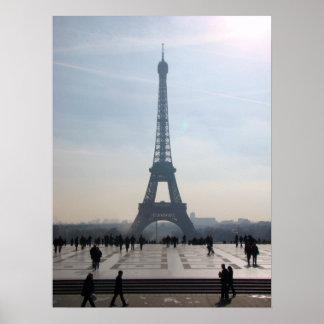 Morning Eiffel Poster