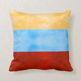Morning Evening Nighttime Sky Throw Pillow