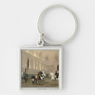 Morning Exercise in the Hofreitschule Key Chain
