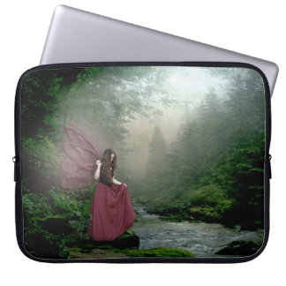 Morning Fairy Laptop Computer Sleeve