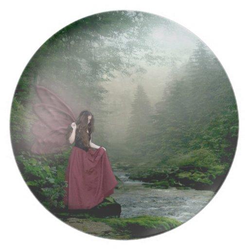 Morning Fairy Plates