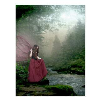Morning Fairy Postcard