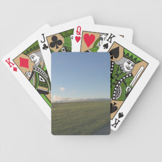 Morning Field Playing Cards