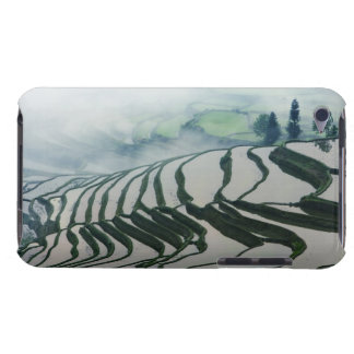 Morning Fog Above Rice Fields Barely There iPod Cover