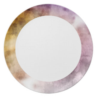 """Morning Fog"" Dinner Plate"