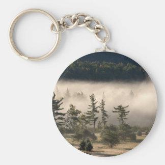 Morning Fog in the Adirondacks Keychain