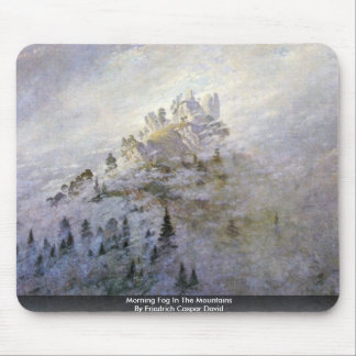 Morning Fog In The Mountains Mouse Pad