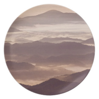 Morning fog in the southern Appalachian Dinner Plates