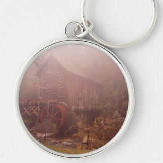 Morning Fog Keychain