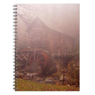 Morning Fog Notebook