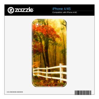 Morning Forest Skins For The iPhone 4S