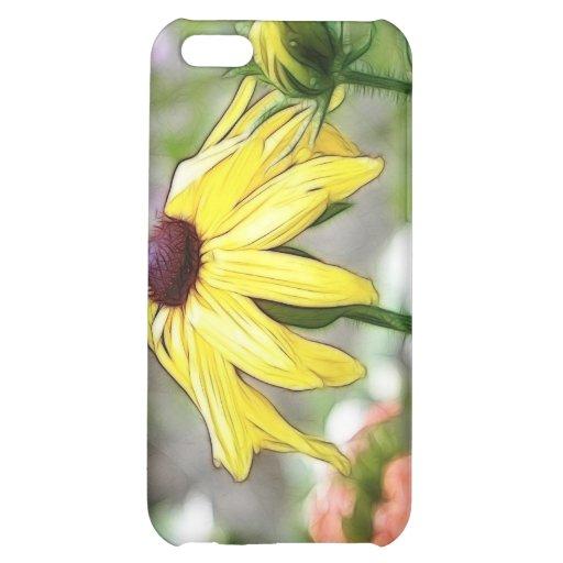 Morning Garden - Black Eyed Susan Case For iPhone 5C