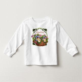 Morning Glories Basket Toddler T-shirt