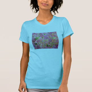 morning glories blue and purple T-Shirt