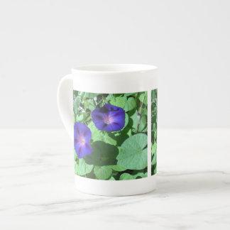 Morning Glories Bone China Mug