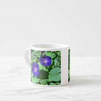 Morning Glories Espresso Mug