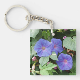 Morning Glories Keychain Acrylic Key Chains
