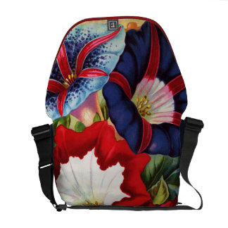 Morning Glories Messenger Bag