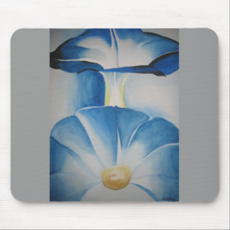 Morning Glories Watercolor Mouse Pads